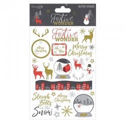 Festive Wonder A5 Stickers (DCSTK054X18)