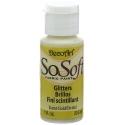 DecoArt SoSoft Glitter 1oz - Karat Gold (DADHM1-26)