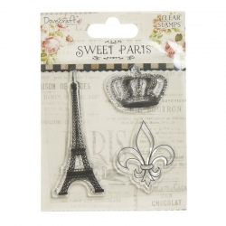Dovecraft Sweet Paris Clear Stamps, Eiffel Tower (DCCS044)