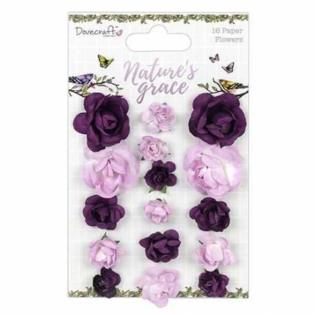 Dovecraft Nature's Grace Paper Flowers (DCFLW019)