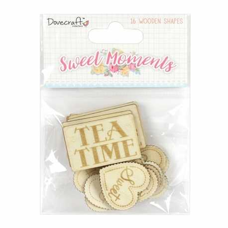 Dovecraft Sweet Moments Wooden Sentiments (DCWDN061)