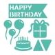 First Edition Die - Birthday Party (FEDIE047)