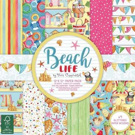 Helz Beach Life 12x12 FSC Paper Pad (HZPAP004)