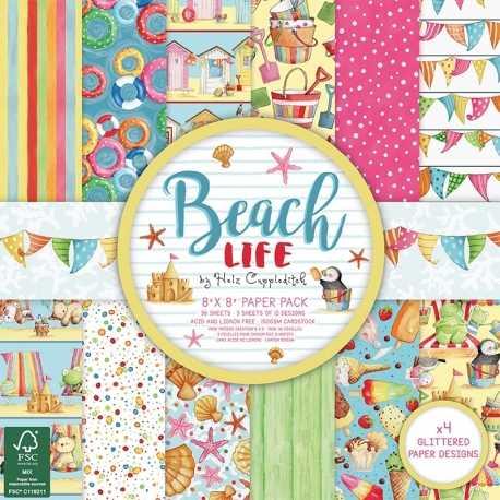 Helz Beach Life 8x8 FSC Paper Pad (HZPAP005)