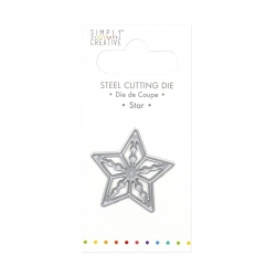 Simply Creative Mini Die - Star (SCDIE072)