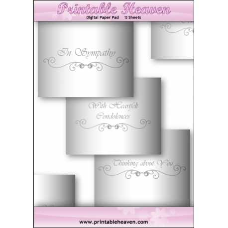 Download - Digital Paper Pad - With Sympathy Inserts
