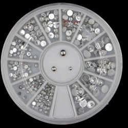 Silver Mini Half-pearl Wheel (20g)