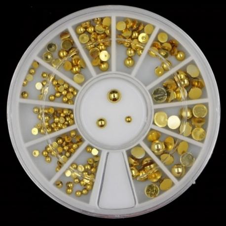 Gold Mini Half-pearl Wheel (20g)