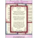 Download - Digital Paper Pad - Christina Rossetti Sympathy Poems