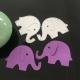 Printable Heaven dies - Pair of Elephants (2pcs)