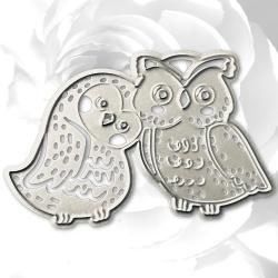 Printable Heaven die - Loving Owls (1pc)