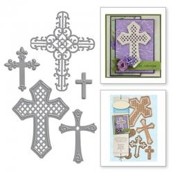 Printable Heaven dies - Cross set (5pcs)