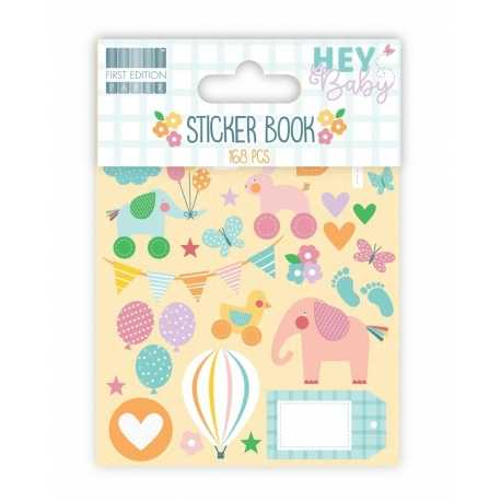 First Edition Hey Baby Sticker Book (FESTK001)