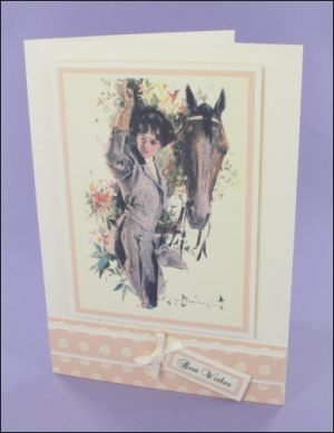 Neigh Best Wishes card