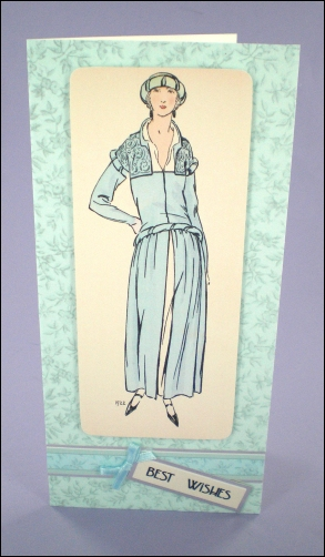 Eau de Nil Dress card