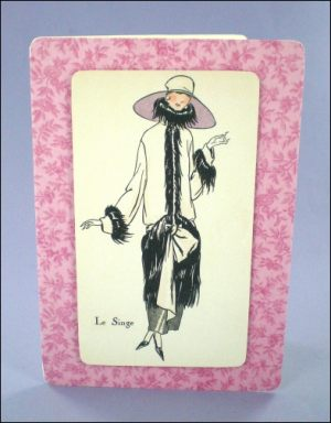 Le Singe Fashion Lady card