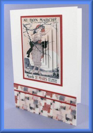 Au Bon Marché Pyramage Card