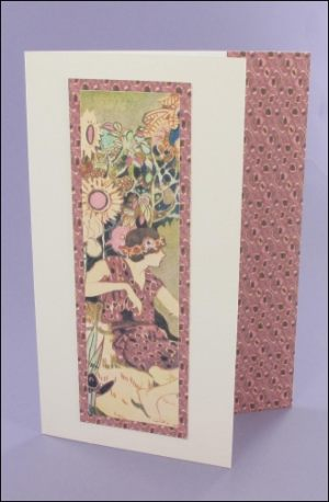Keira Bookmark card