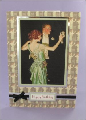 The Dancing Couple card