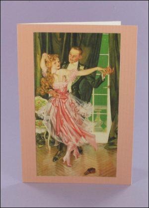 Palmolive Dancing Notecard