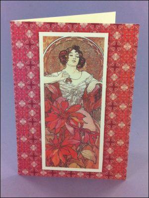 Le Rubis Art Nouveau card