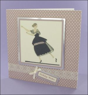 Cendrillon Birthday card