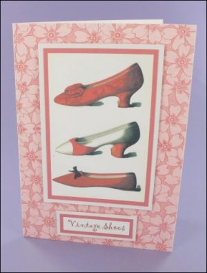Red Vintage Shoes card