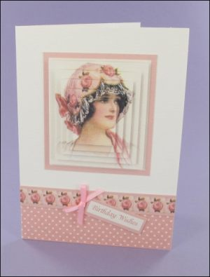 Pretty Pink Hat card
