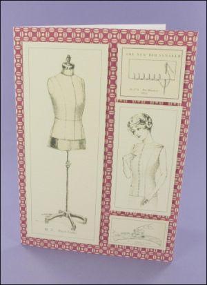 7 x 5 Dressmaking card