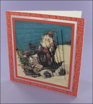 Forget the Sleigh Twisted Pyramage card