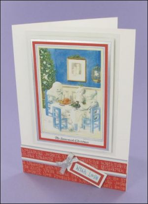 The Snowmans Christmas A6 card