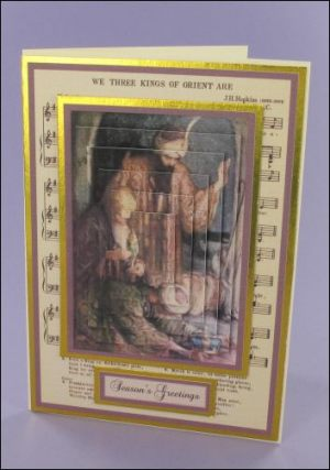 Three Wise Men Music card