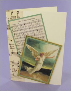 Angel Gabriel Music card