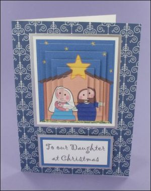 Mary & Joseph Pyramage card