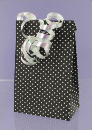 Polka Dot Mono Gift bag