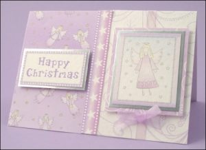 Happy Christmas Angel Card