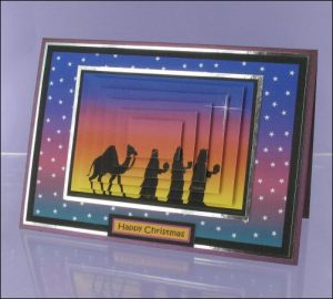 Wise Men Pyramage card