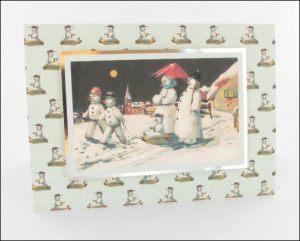 Snowman Procession card