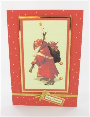 Old Father Christmas card
