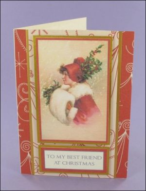 Best Friend Christmas card