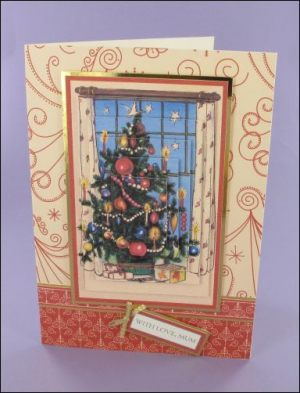 Christmas Tree Pyramage card