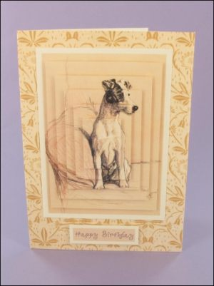 Terrier Large Pyramage card