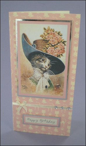 My Fair Cat-Lady card