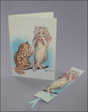 In-Cat-uation Notecard & Bookmark