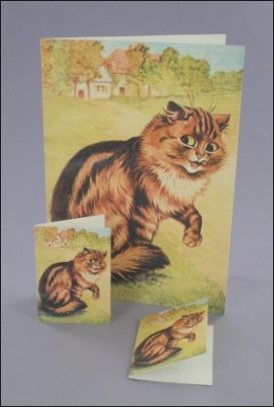Purr-fectly Happy Notecard & Tags