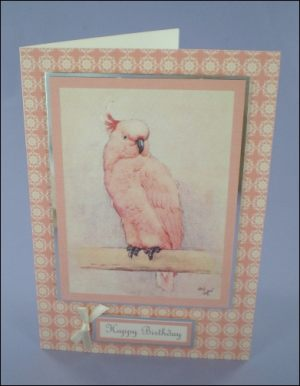 Cecil Aldin Cockatoo card