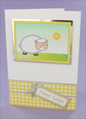 Sunny Sheep card