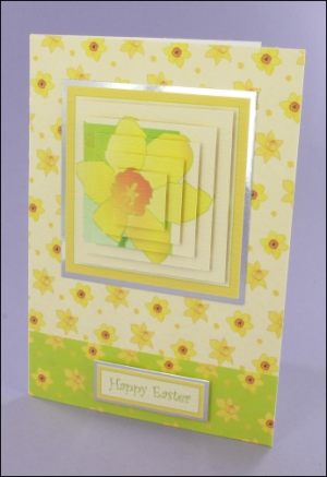 Daffodil Pyramage card