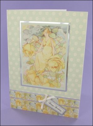 Dream Roses Motif card