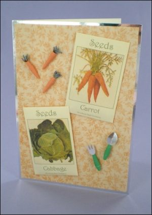 Carrots & Cabbage Seeds card